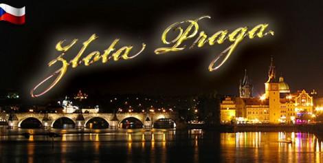 Złotea jesień w  Pradze