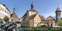 BAWARIA WIOSNĄ - NORYMBERGA -BAMBERG